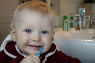 Brosser dents enfant