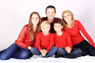 Famille Père mère Enfants Garçon fille