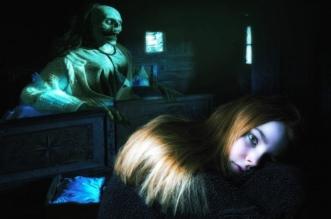 Fantaisie Sombre Femme Effrayante Fille