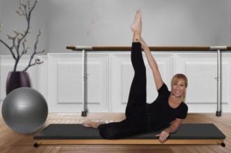 Femme Gymnastique Salle De Gym étirement