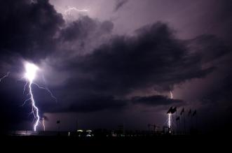 Foudre Tempête Nuit Éclair Nature Météo