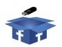 Facebook box, Sauvegarder Facebook, copie, données, disque amovibe